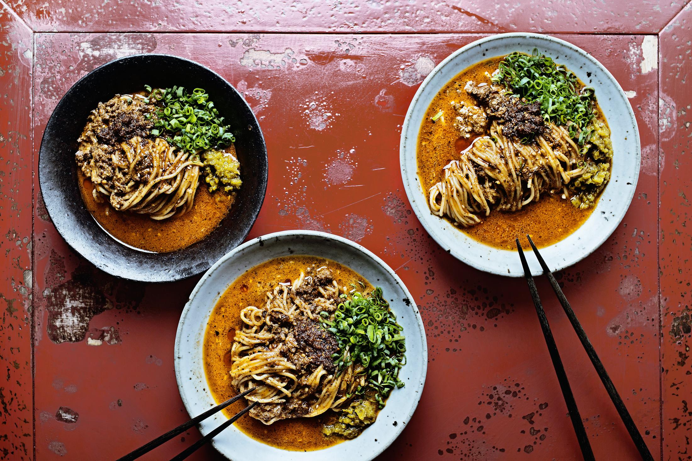 instant dandan noodle mix
